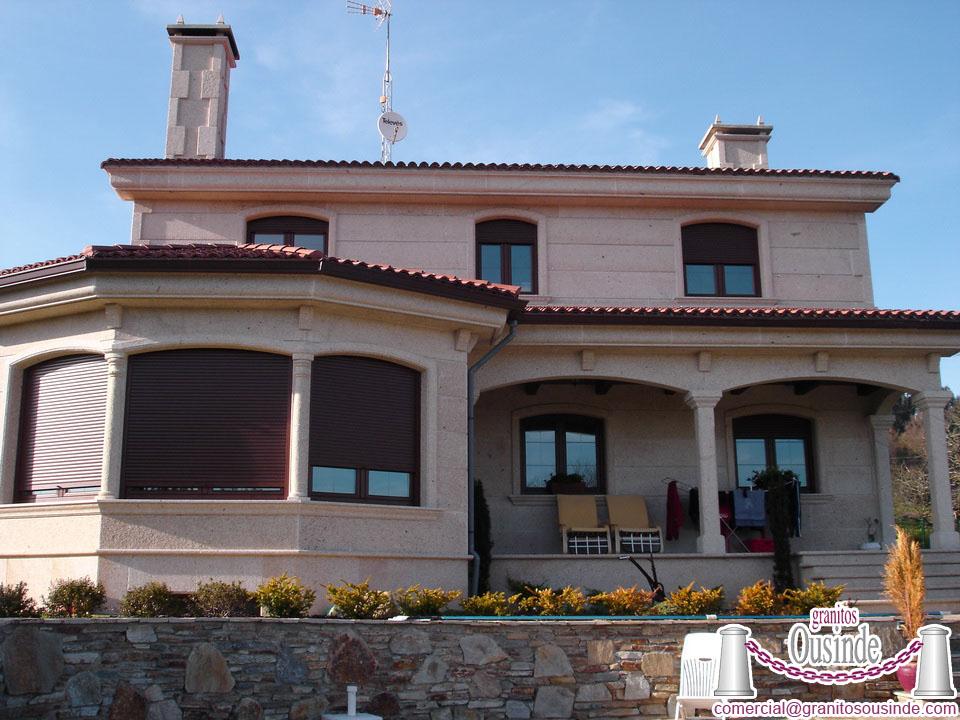 fachadas de chalets granitos On fachadas de chalets